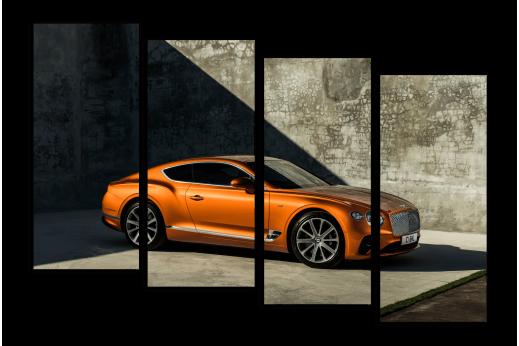 Модульная картина Bentley Continental